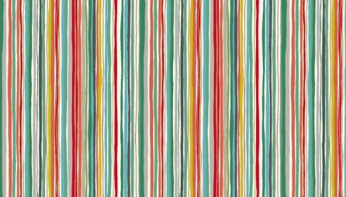 Merry Christmas Collection - Wavy Stripe